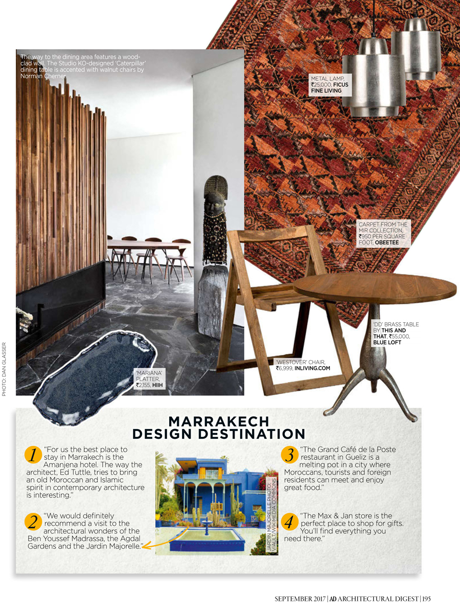 Architectural Digest September 2017