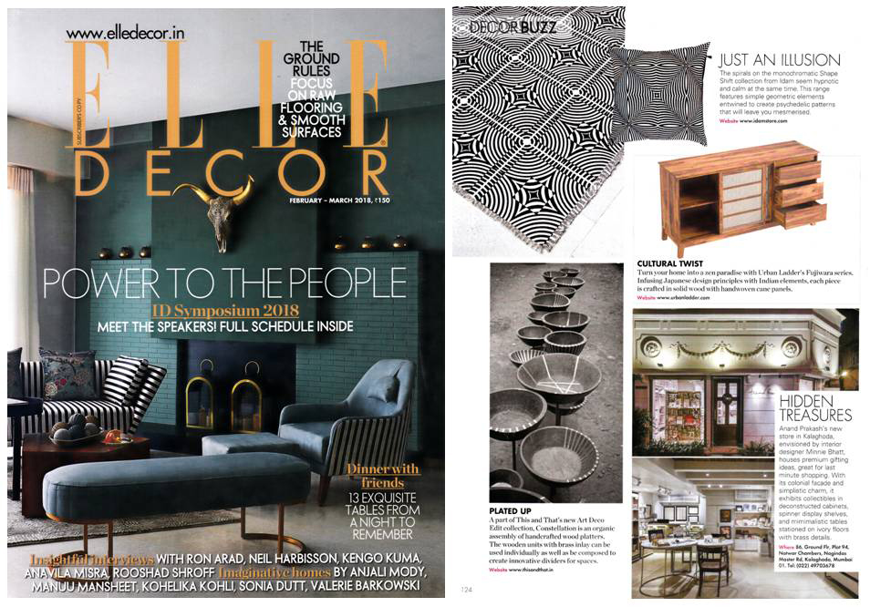 ELLE DECOR FEB MARCH 2018