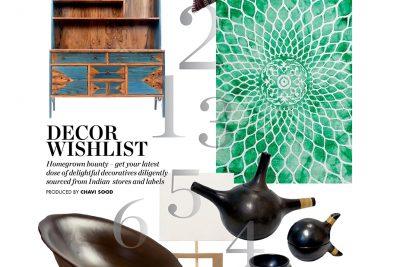 EDITORIAL COVERAGE – ELLE DECOR INDIA