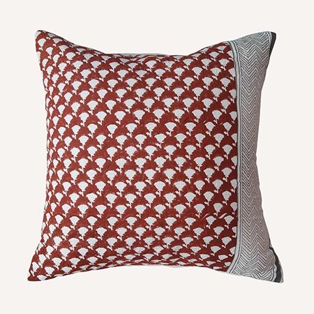 THUMBNAIL Lal Phool Cushion 2