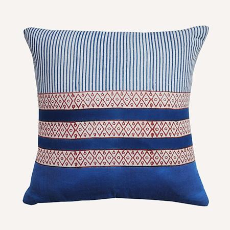 THUMBNAIL Nam Indigo Cushion