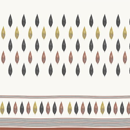 THUMBNAIL Adoosa in Grey, Mustard and Red