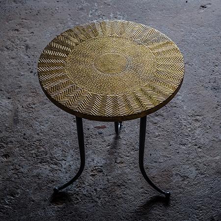 Brass Round Table