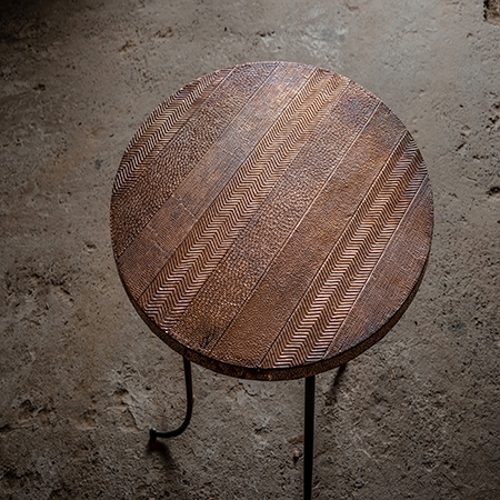 Copper Round table